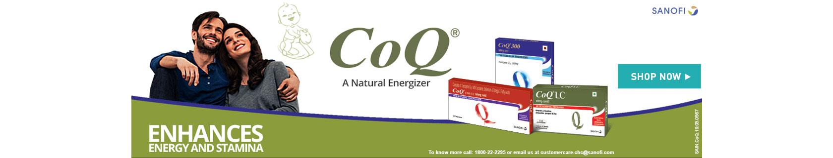 Sanofi CoQ - A Natural Energizer