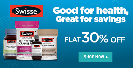 Flat 30% off on Swisse Wellness products