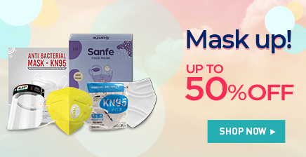 Up to 50% off on n95 Masks