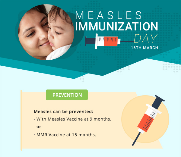 Measles Immunization day