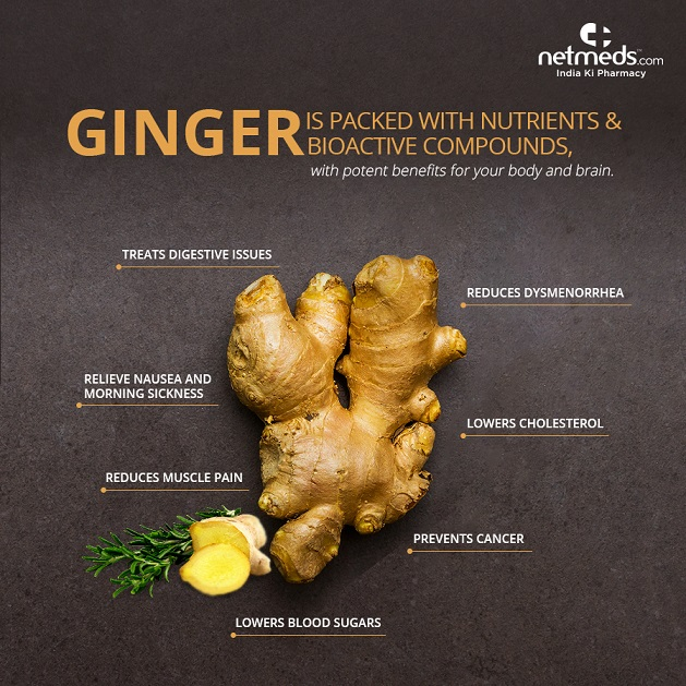 nutrients and bioactive compounds in ginger