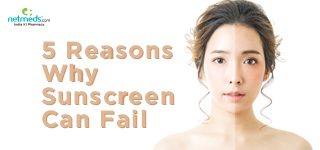 5 Reasons Why Sunscreen Can Fail