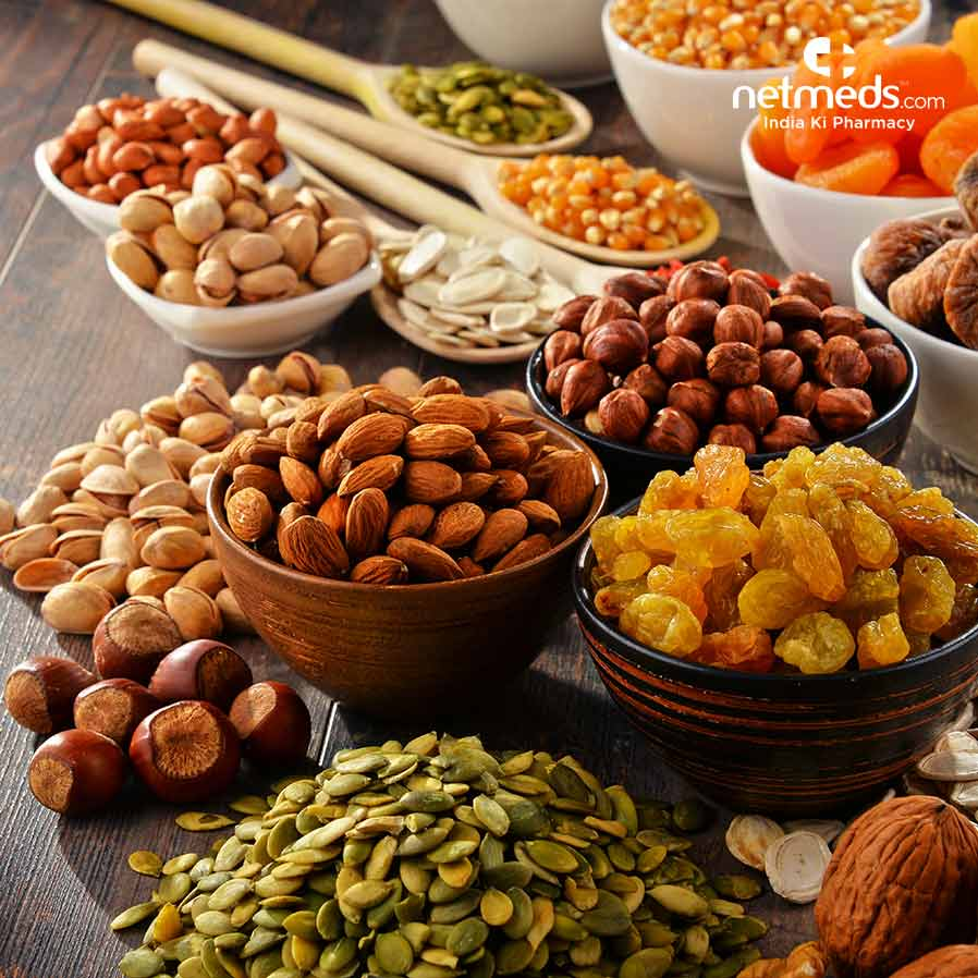 dry fruit and nuts