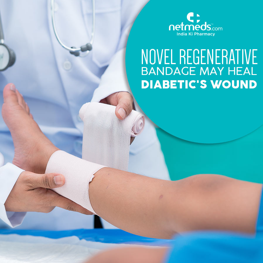 Novel Regenerative Bandage May Heal Diabetics' Wounds Faster