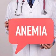 Adult Anemia could indicate a serious health problem