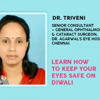 Learn How To Keep Your Eyes Safe On Diwali