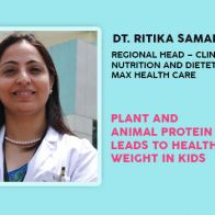 Plant And Animal Protein Leads To Healthy Weight Gain In Kids