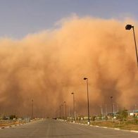 Dust storm: Impact of dust pollution on the lungs