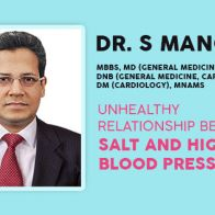 Unhealthy Relationship between Salt and High Blood Pressure