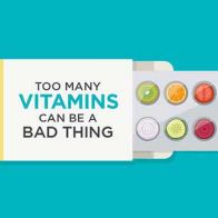 Too Many Vitamins Can Be A Bad Thing