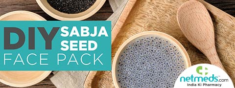 4 Unbelievable Benefits Of Sabja Seeds For The Skin | DIY Sabja Seed Face Pack