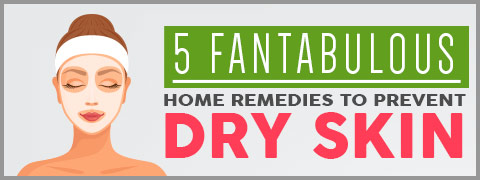 5 Awesome Natural Remedies To Heal Dry Skin Problems In Winter-Infographic