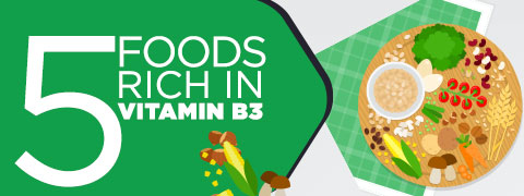 Vitamin B3/Niacin: Eat These In Your Daily Diet To Stay Healthy - Infographic