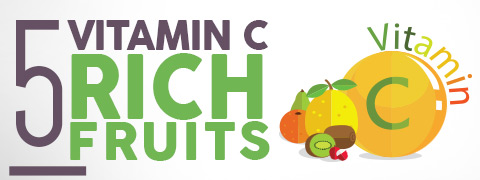 5 Fruits Abundant In Vitamin C To Bolster Immunity - Infographics