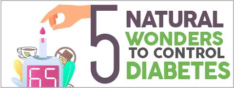 World Diabetes Day: 5 Natural Foods To Manage Diabetes-Infographic