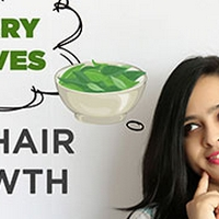 How To Use Curry Leaves For Hair Growth | DIY Curry Leaves Oil