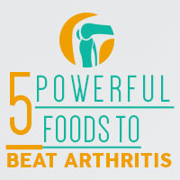 5 Incredible Foods To Cure Arthritis-Infographic
