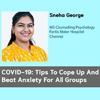 COVID-19: Tips To Cope Up And Beat Anxiety For All Groups