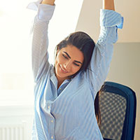 Gloomy Under Lockdown? These 7 Easy To Do Stretches Will Improve Your Mood And Physical Health