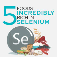 5 Foods Splendid In Selenium That Promote Overall Health-Infographic