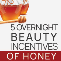5 Splendid Overnight Benefits Of Honey For Ravishing Skin -Infographic