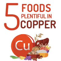 5 Foods Incredibly Rich In Copper That Enhances Overall Wellbeing - Infographic