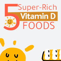 5 Food Sources Incredibly Abundant In Vitamin D For Overall Wellbeing-Infographic