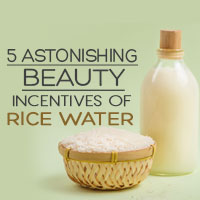 Rice Water: 5 Splendid Beauty Secrets Of Using This Starchy Water-Infographic