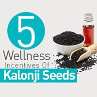 5 Splendid Health Reasons On Why You Should Add Kalonji Seeds To The Diet - Infographic