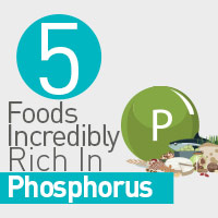 5 Foods Plentiful In Phosphorus For Total Well-Being-Infographic