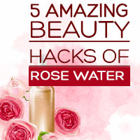 Rose Water: 5 Astounding Beauty Incentives Of This Aromatic Liquid For A Glowing Skin-Infographic