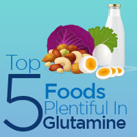5 Foods Incredibly Rich In Glutamine That Promotes Total Wellbeing -Infographic