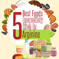 5 Foods Power-packed With Arginine For Overall Health –Infographic