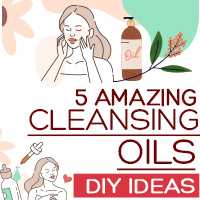 5 Soothing Cleansing Oils Recipes For Every Skin Type-Infogrpahic