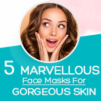 5 Spectacular Natural DIY Face Mask Recipes For A Radiant Skin - Infographic