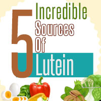 5 Food Sources Plentiful In Lutein That Promotes Overall Health - Infographic