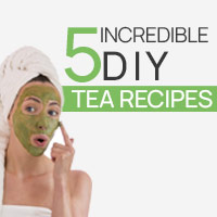 5 Splendid DIY Tea Ideas For A Glowing Skin And Lustrous Hair-Infographic