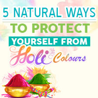Holi 2021: Simple Ways to Safeguard Your Skin /Hair From Harsh Colours-Infographic