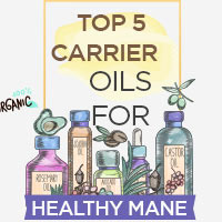 Carrier Oils 101: 5 Best Carrier Oils For A Stronger and Shiner Hair- Infographic