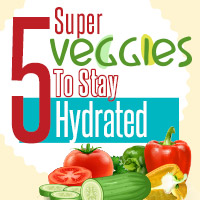 Summer Veggies: 5 Hydrating Foods To Beat The Heat -Infographic