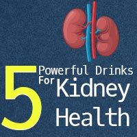 Kidney Care: 5 Healthy Drinks To Cleanse Your Kidneys- Infographic