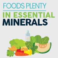 6 Key Minerals Functions And Sources - Infographic