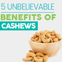 5 Healthy Reasons To Add Cashew Nuts To Your Diet Regimen - Infographic