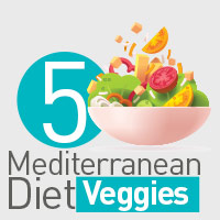 5 Unique Vegetables From The Mediterranean Diet To Uplift Overall Wellbeing – Infographic