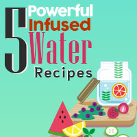 Infused Water: 5 Refreshing Recipes To Enhance Overall Health And Well-being -Infographic