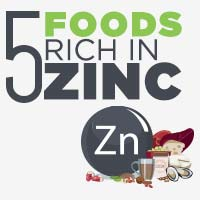 5 Foods Incredibly High In Zinc That You Should Include In Your Diet-Infographic