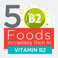 5 Foods Plentiful In Vitamin B2 For Overall Health -Infographic