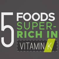 5 Foods Plentiful in Vitamin K That Promotes Overall Health - Infographic