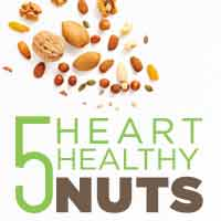 5 Incredible Nuts To Boost Your Heart Health - Infographic