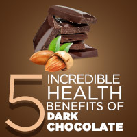 5 Healthy Reasons To Eat Dark Chocolate-Infographic